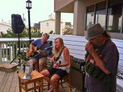 Basnight's Lone Cedar Outer Banks Seafood Restaurant, Bill & Friends