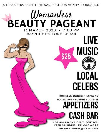 Basnight's Lone Cedar Outer Banks Seafood Restaurant, Womanless Beauty Pageant